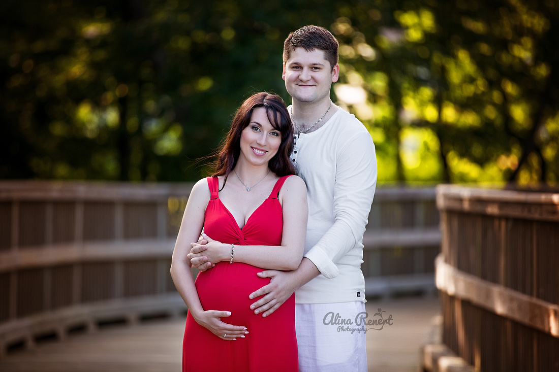 Chicago, IL - Sunset Maternity Session