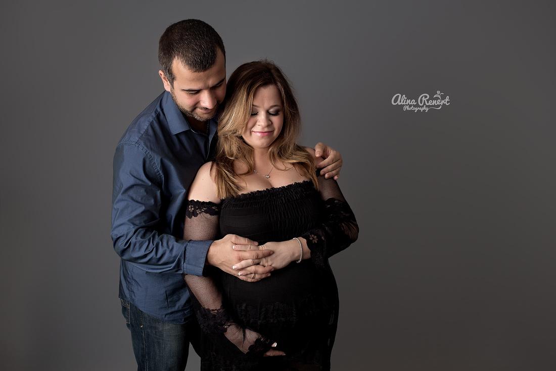 Chicago Studio Maternity Session