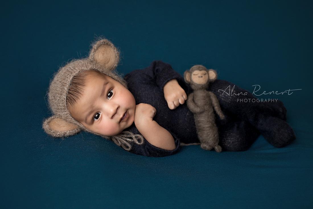 Chicago Newborn Session - Kiyansh - Alina Renert Photography