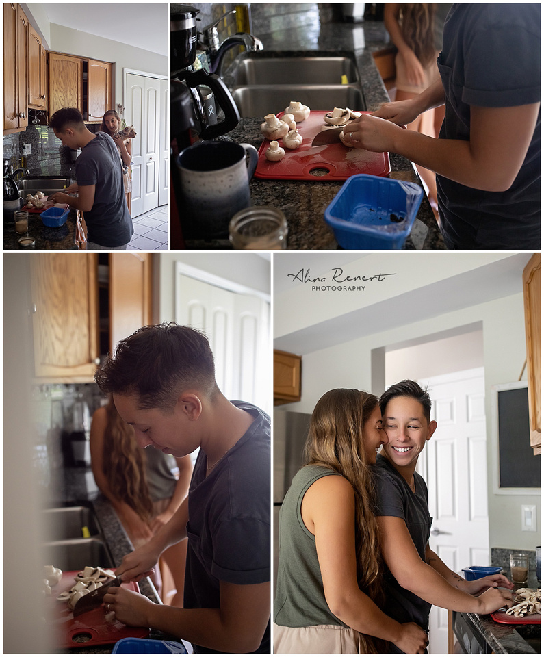 Chicago Couples Lifestyle Photographer Alina Renert - Sophie & Jess