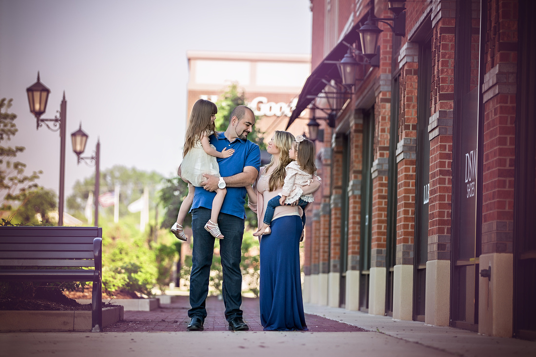 Chicago Urban Family Photographer