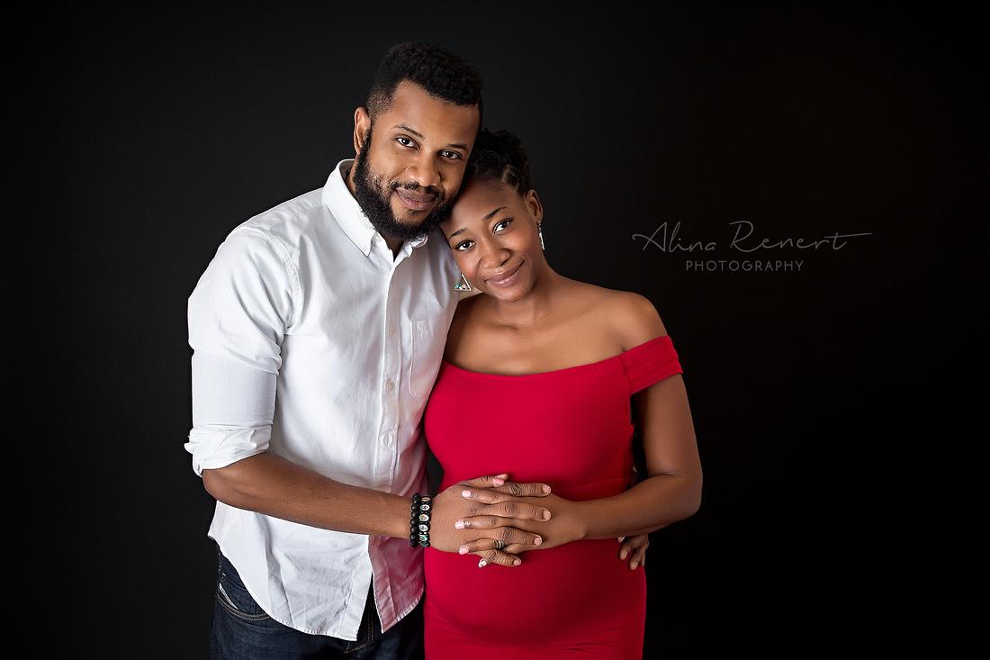 Chicago Studio Maternity Photographer