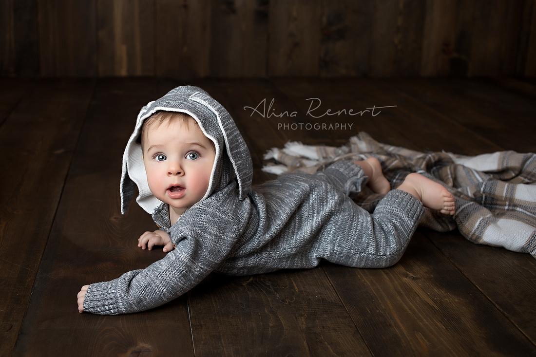 Chicago Baby Milestone Session - Max - Alina Renert Photography