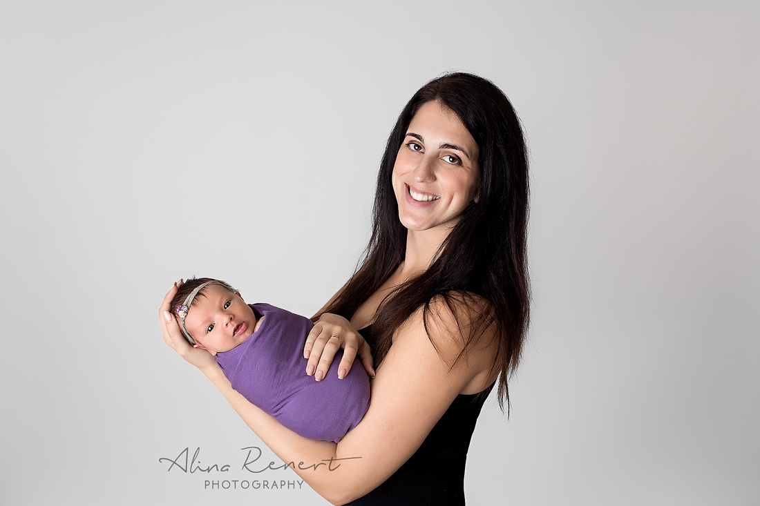 Chicago Newborn Session - Tali - Alina Renert Photography