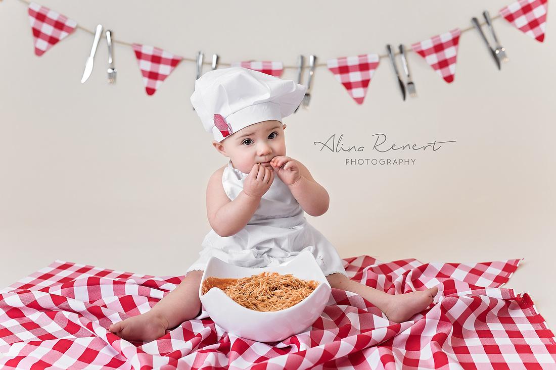 Chicago Baby Milestone Session - Lennon - Alina Renert Photography
