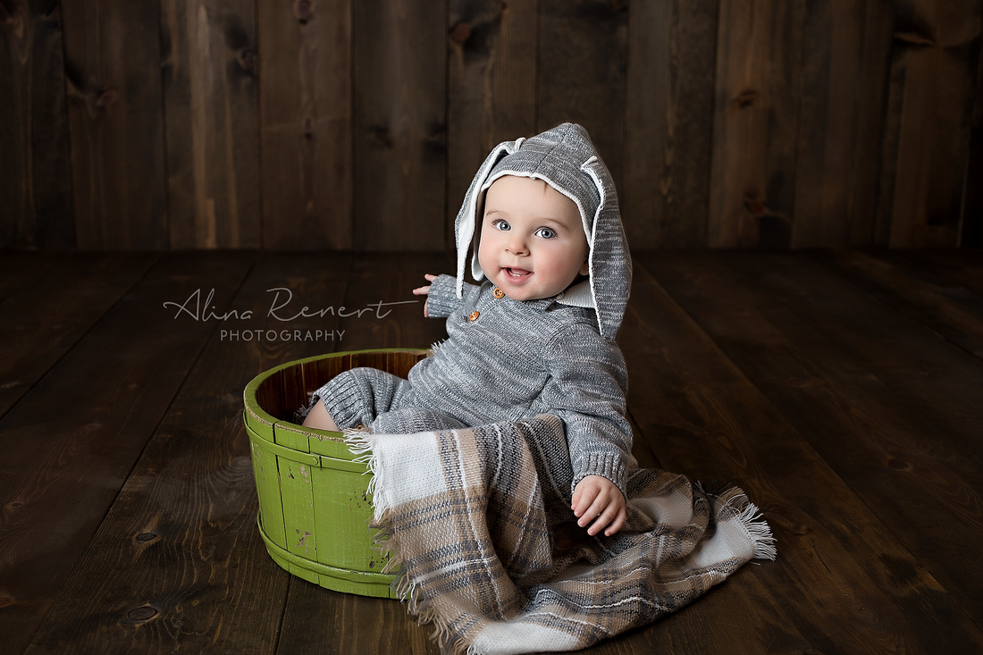 Chicago Baby Milestone Session - Max - Alina Renert Photography