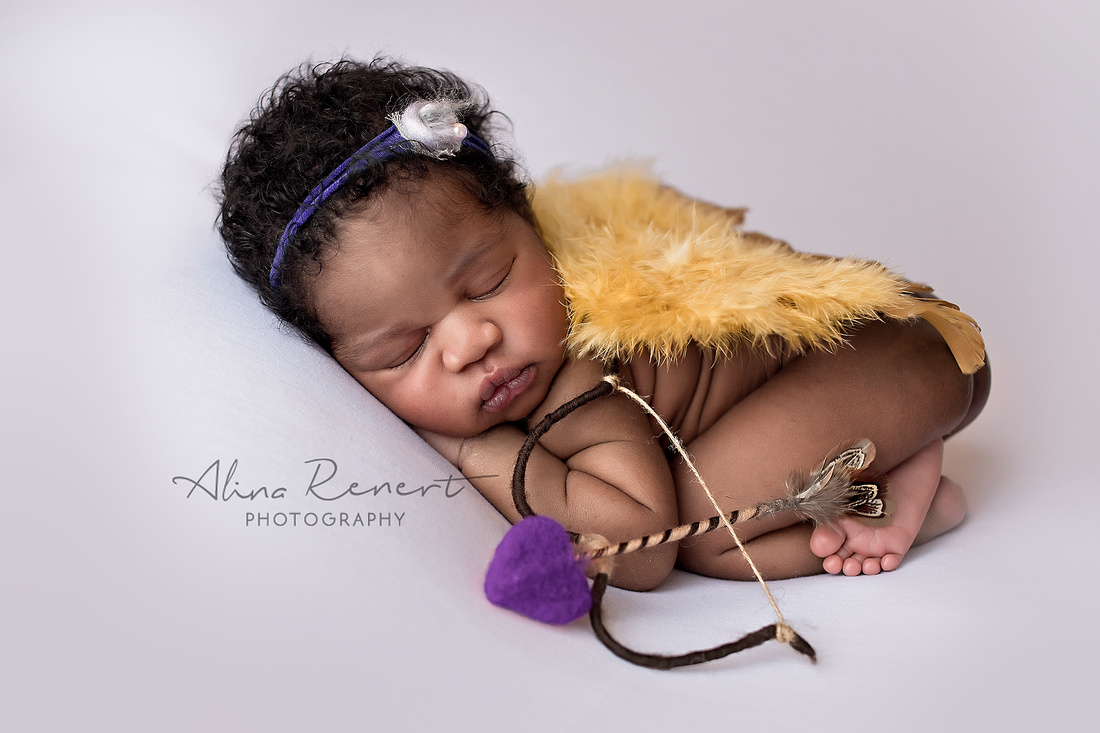 Chicago Newborn Session - Zoe - Alina Renert Photography