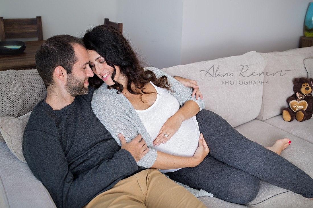 Chicago Lifestyle Hybrid Maternity Alina Renert Photography