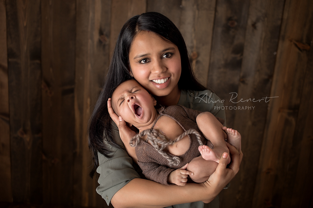 Chicago Newborn Session - Kiyansh - Alina Renert Photography